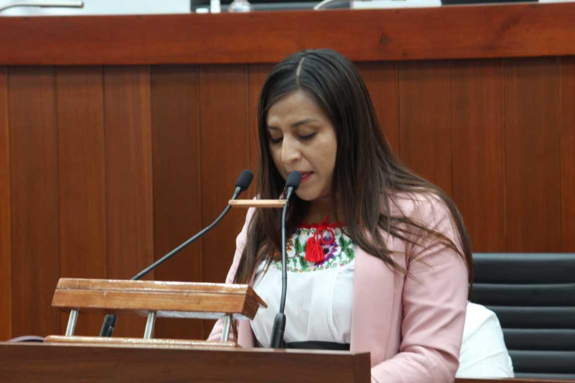 Lupita Cuamatzi de MORENA presenta proyecto para conformar el INSABI
