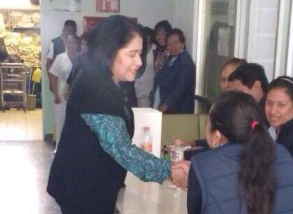 Se deslinda Blanca Águila de compra de votos en elección