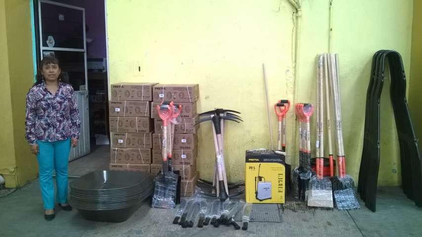 Gestiona DIF Municipal de Amaxac herramienta para el campo a bajo costo