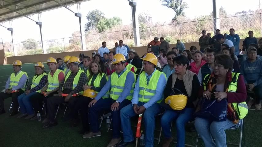 Con 7.3 mdp se construirá un deportivo y la pavimentación de la calle la Presa