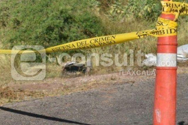 Siguen apareciendo muertos en Tlaxcala, ahora fue en Ayometla
