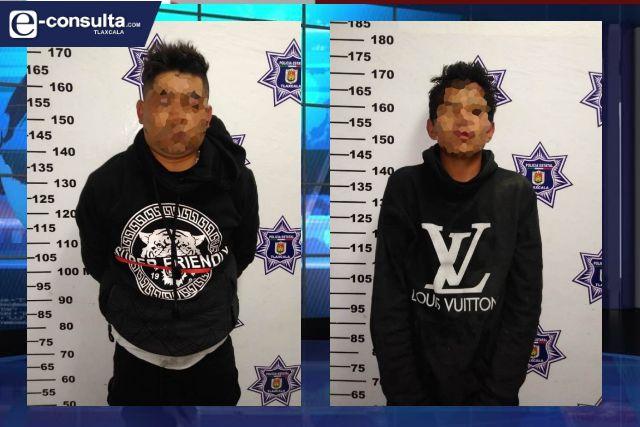 La SSC detiene a dos personas por el robo de un vehículo a mano armada