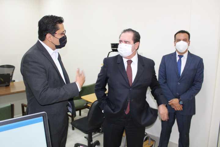Supervisa Bernal Salazar actividades en Distrito Judicial de Xicohténcatl
