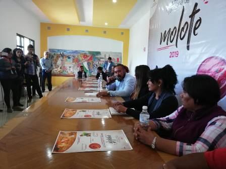 Reunirá 11ª Feria del Molote a más de 50 cocineras tlaxcaltecas