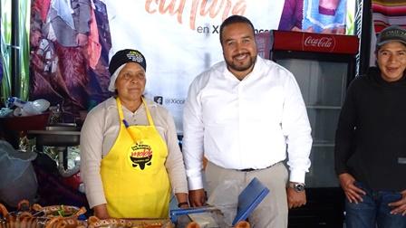 Molote de Xicohtzinco presente en la Feria Tlaxcala 2019