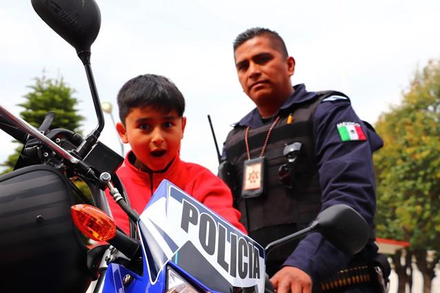 Realiza Policía de Xicohtzinco demostración de la Unidad Canina K9