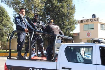 Arrancan policías operativo decembrino de seguridad  intermunicipal