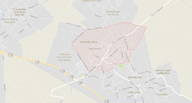 Reportan enfrentamiento armado en una comunidad de Tzompantepec