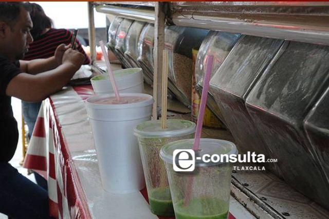 Nunca prosperó la Ley de los popotes y plásticos en Tlaxcala