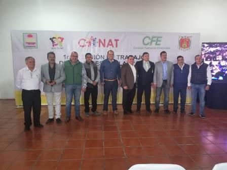 Participa Badillo Jaramillo en Reunión de Alcaldes de Tlaxcala