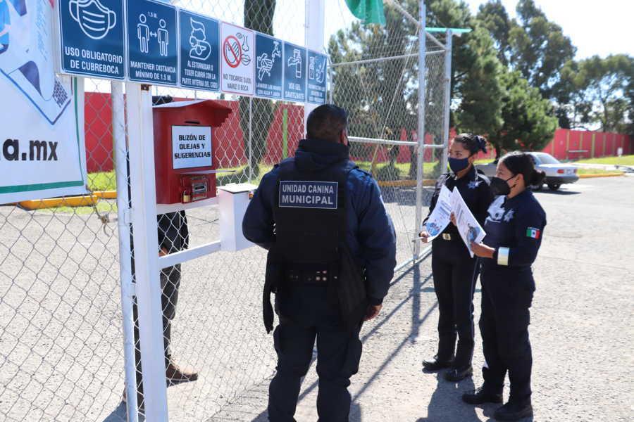 Realiza Xicohtzinco campaña de difusión de números de emergencias