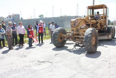 Obras buscan mejorar vialidad y calidad de vida: Jaime Pérez