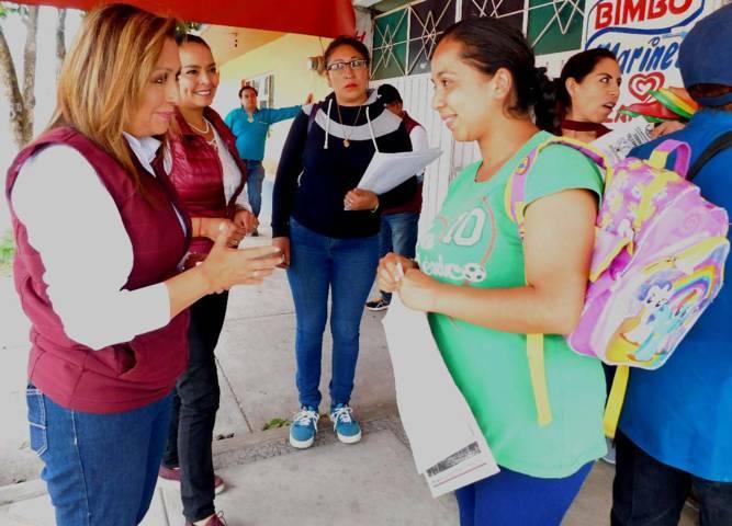 Educación gratuita en todos los niveles será una realidad: Lorena