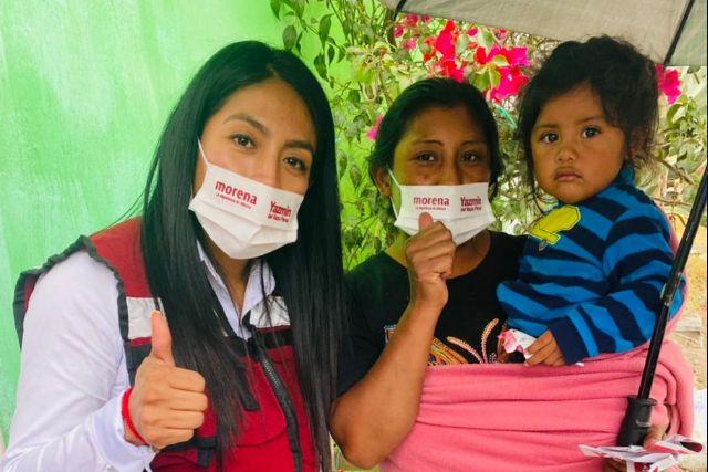 Yazmin del Razo va por un aula de medios para Tlaltelulco