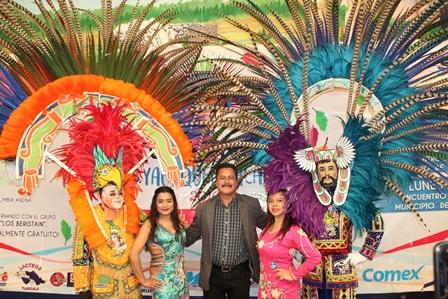 Del 1 al 4 de marzo llega el Carnaval Yauhquemehcan