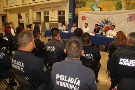 Ayuntamiento actualiza su policía en prevención del delito