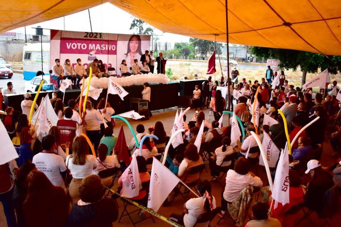 Vamos por la transformación de Tlaltelulco: Yazmin del Razo