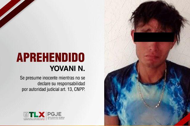 Aprehenden a acusado por robo agravado cometido en Puebla