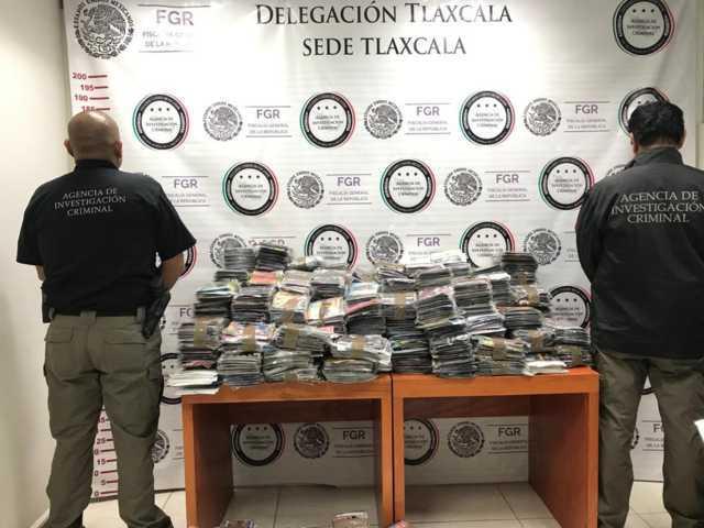 Asegura La PFM más de 16 mil piezas falsificadas en Tlaxcala