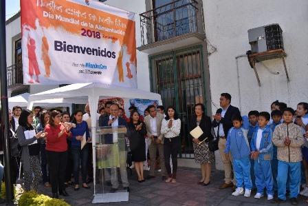 Avanzamos con paso firme hacia un Zacatelco Libre de Hambre: TOA