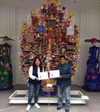Museo de Arte Popular de la CDMX reconocen trabajo de artesano