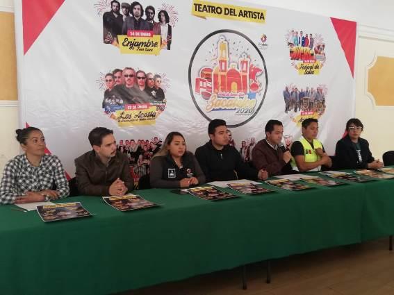Gobierno de Zacatelco anuncia formalmente su feria patronal 2020