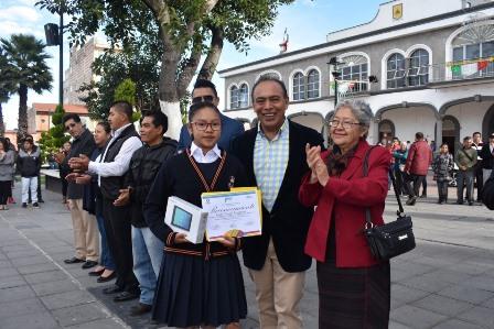 Zacatelco tiene ganadoras del Concurso Nacional de Cultura Turística en Tlaxcala