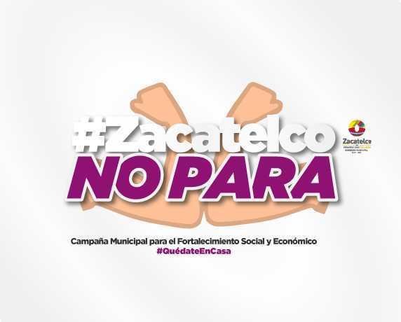 Zacatelco no para , campaña ante el Covid 19