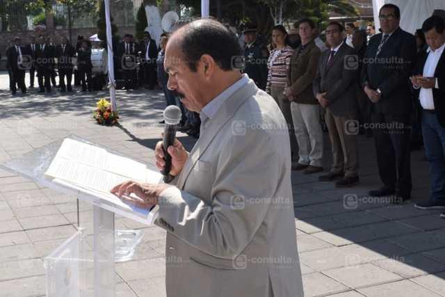 Los zacatelquenses nos sentimos orgullosos del General Cirilo: Tomás Orea