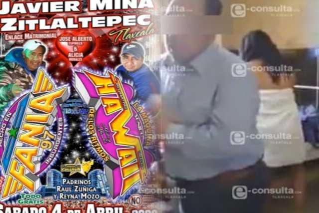 Edil de Zitlaltepec distraído con sexoservidoras mientras realizan baile masivo